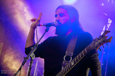 Rotting Christ au Fall of Summer 2014