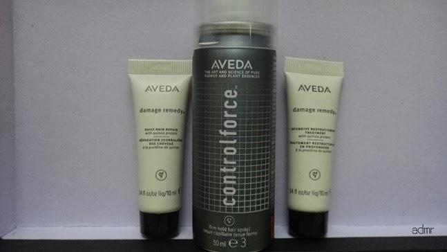 8ecc18696615b AVEDA hair product range (Damage Remedy Intensive Restructuring Treatment   Daily  Hair Repair)