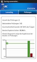 Screenshot of Funkbetriebszeugnis LRC