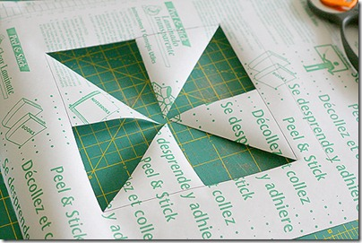 1 make a template with contact paper