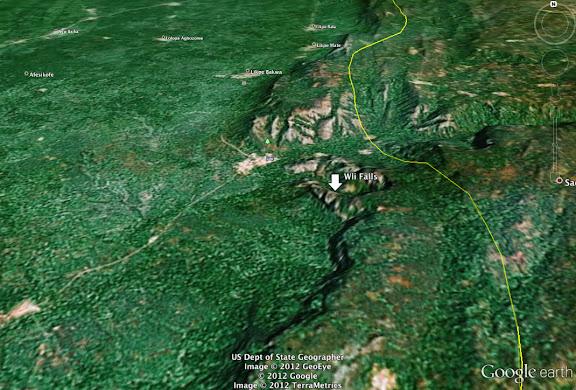 Wli Falls, Agmatsa Wildlife Sanctuary