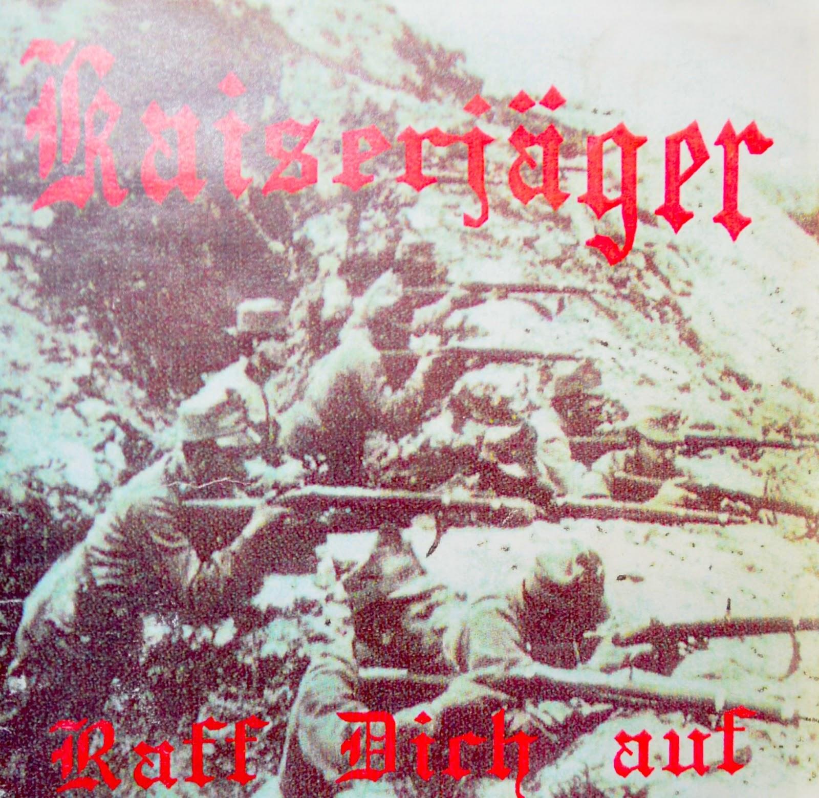 Laut Burger offizielles Kaiserjäger-Cover