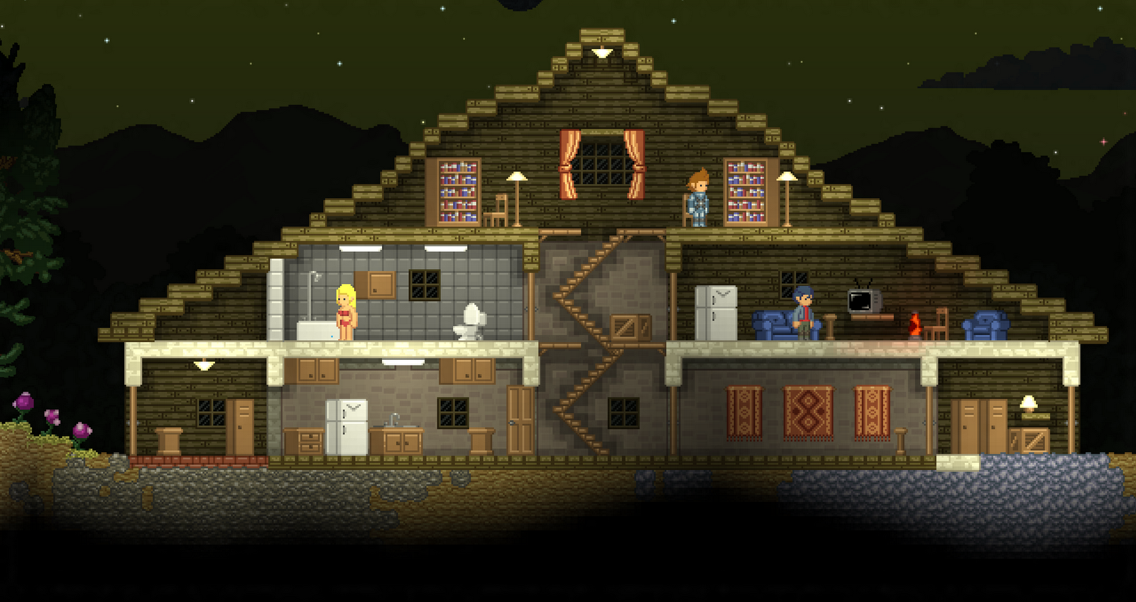 62 best starbound houses images on pinterest