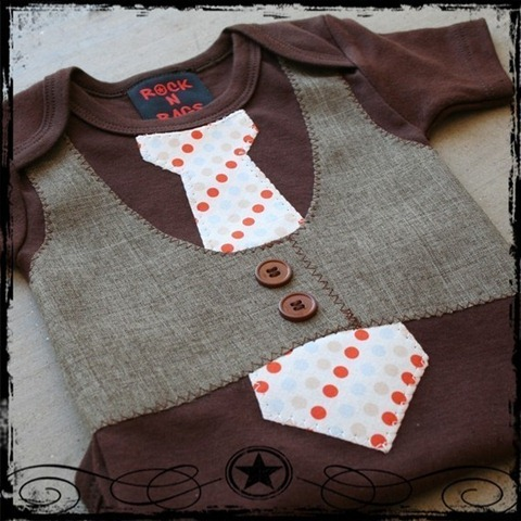 0-3m-brown-vest-blue-orange-and-tan-dot