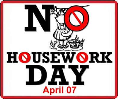 no housework day