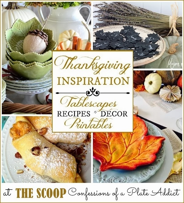 CONFESSIONS OF A PLATE ADDICT Thanksgiving Inspiration