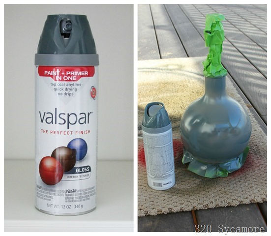valspar cobalt cannon spray paint