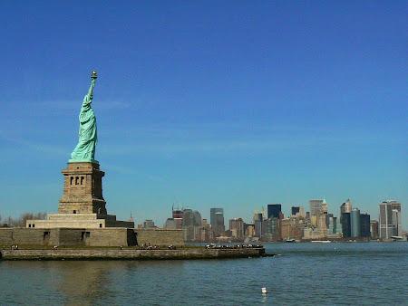 Obiective turistice New York: Statuia Libertatii