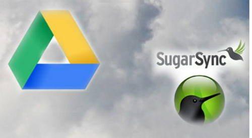 Google drive vs sugarsync