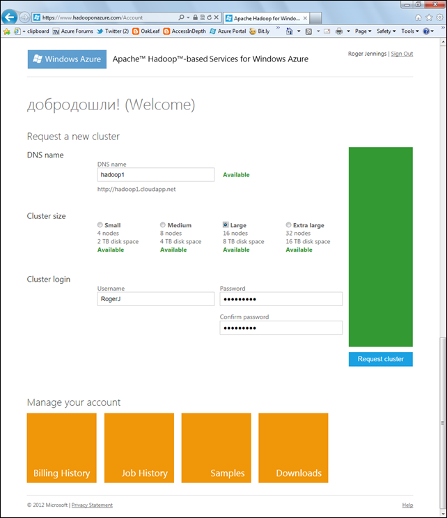 Introducing Apache Hadoop Services for Windows Azure - DZone