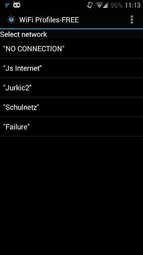 WiFi Profiles FREE