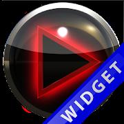 Poweramp Widget Red Glow 2.08-build-208 Icon