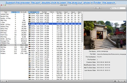 Mac File Size Viewer