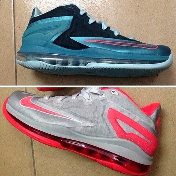 quality design 4aceb 4398b Preview of New Nike LeBron XI Styles BlackBlue amp GreyCrimson ...