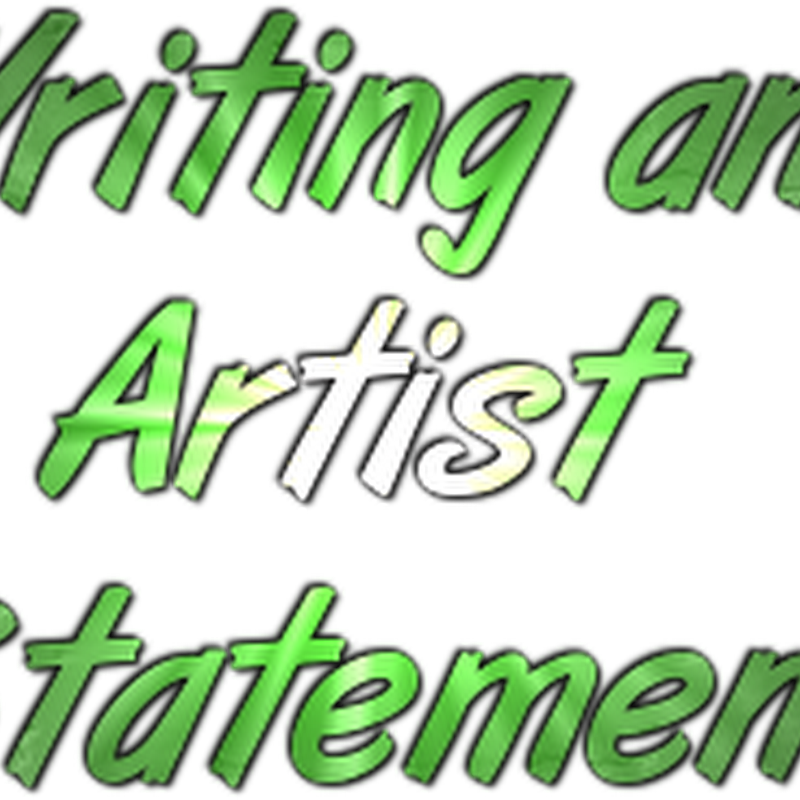 How to Write the Best Artist Statement