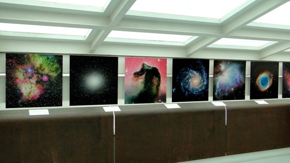 Exposição temporária Universo Incrível