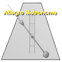 allegro metronome logo