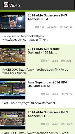 AMA Supercross Videos Donate