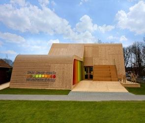 Diseño Pabellón Español Floriade 2012