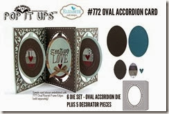 Accordion Card Oval