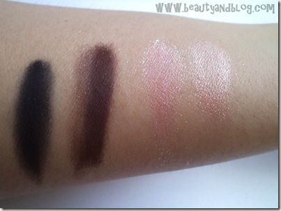 Mattify! Cosmetics Sparkling Eye Shadows Review And Swatch In Twilight Cotton Candy Iced Apricot Woodland Fairy