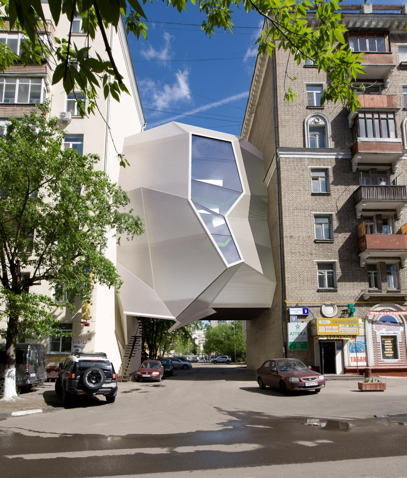 Parasite Office - Za Bor Architects