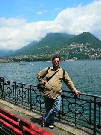 Locuri frumoase Elvetia: lacul Lugano