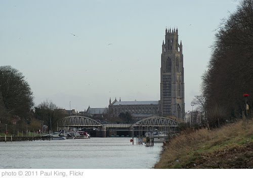 'St Botolph's Church & Grand Sluice Bridge' photo (c) 2011, Paul King - license: http://creativecommons.org/licenses/by/2.0/