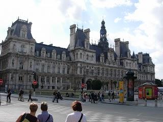 Hôtel de ville à Paris