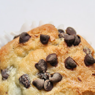 Ooey, Gooey Chocolate Chip Muffins!
