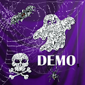 Halloween Diamonds DEMO live logo