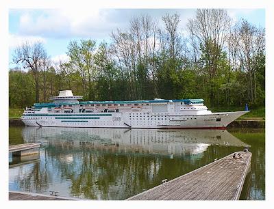 Radtour von Saarbrücken nach Straßburg: Majesty of the Seas
