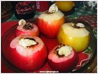 Яблоки, запеченные с финиками. www.samapovar.ru