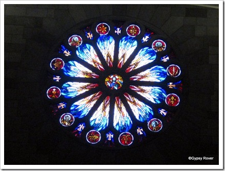 The Rose Window, Nelson Cathedral.