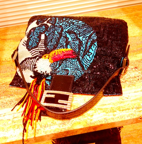 FENDI BAGUETTE TUCANO Python leather double F clasp colourful bird rio PEEKABOO HANGBAG B FAB BAG Gialla Limited Re-Edition Paglia, Specchietti, BAGS Zucca, Jeans, Podium BAGUETTE BOOK Fall Winter 2012 2013 women men
