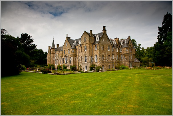 carberry tower scottish wedding venue