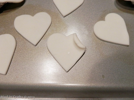 Bake Clay Hearts