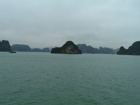 Halong Bay - plecare