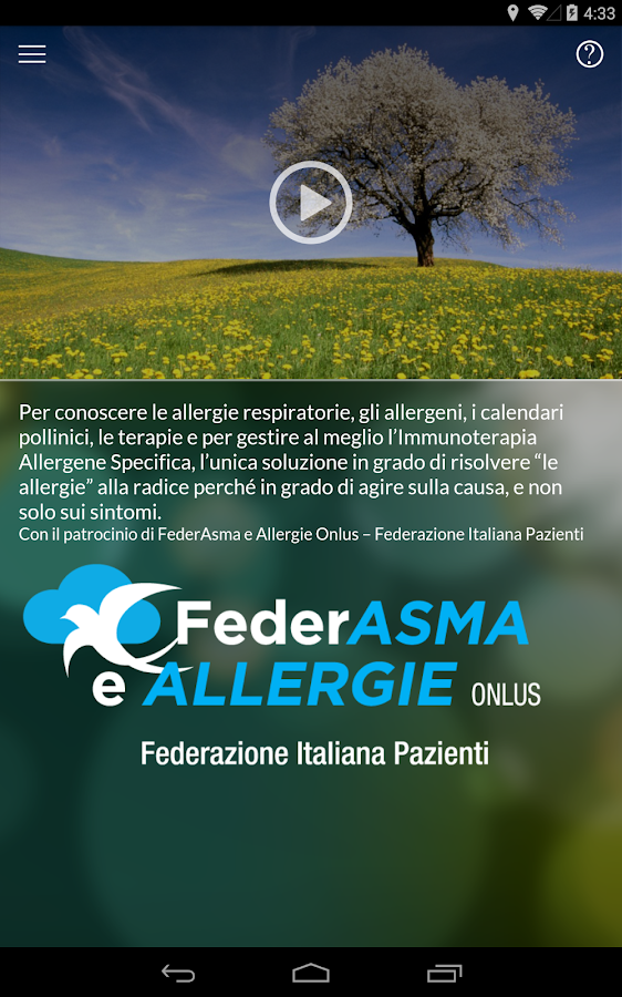 Allergy Control- screenshot