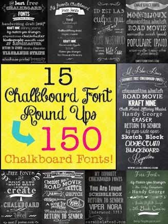 Chalkboard Fronts