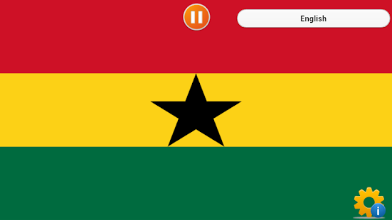 National Anthem of Ghana screenshot
