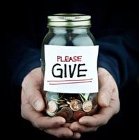 pressure to donate