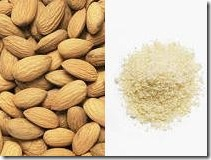almonds and almond meal