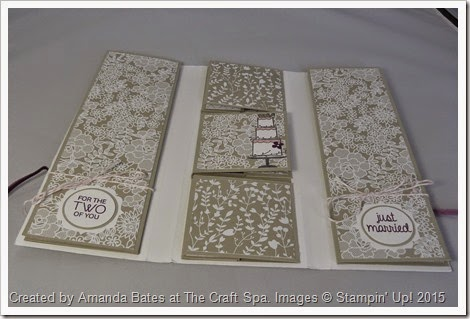 Artisan Embellishments & Something Borrowed TriFold Mini Book by Amanda Bates at The Craft Spa  (4)