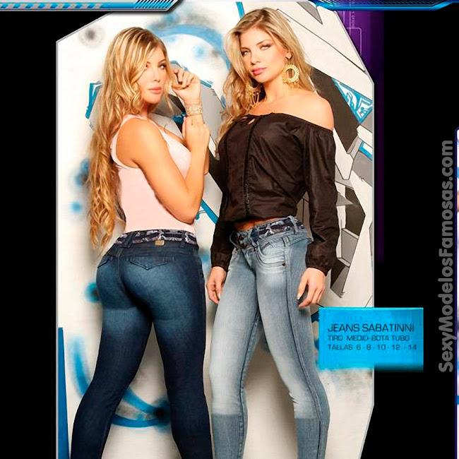 Angelica Jaramillo y Sofia Jaramillo Axxys Jeans Foto 6