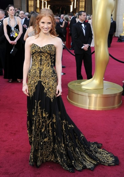Jessica Chastain 84th Annual Academy Awards Arrivals