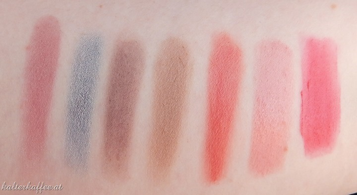 Beauty Favourites Swatches