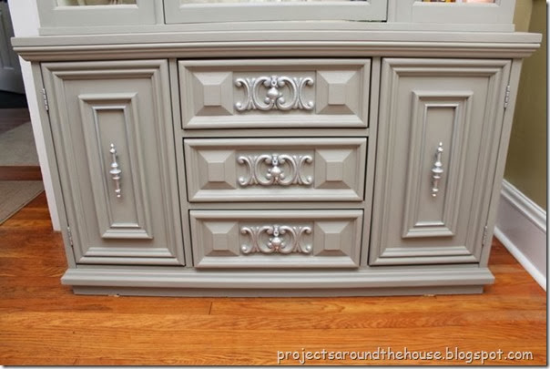China Cabinet Redo with Chalk Paint