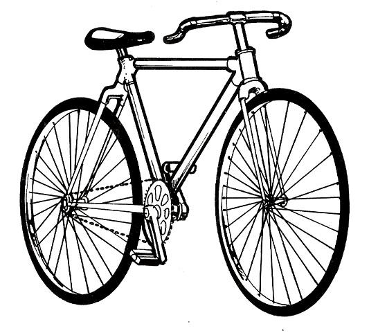 Dibujos De Bicicletas Para Colorear