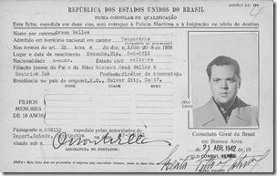 奥森韦林斯'巴西海盗卡,1942年4月拍摄
